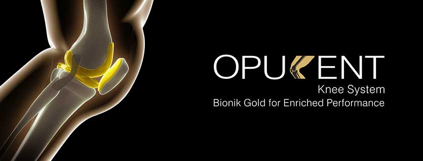 The Opulent Bionik Gold Knee: The Cutting Edge in Knee Replacement Technology