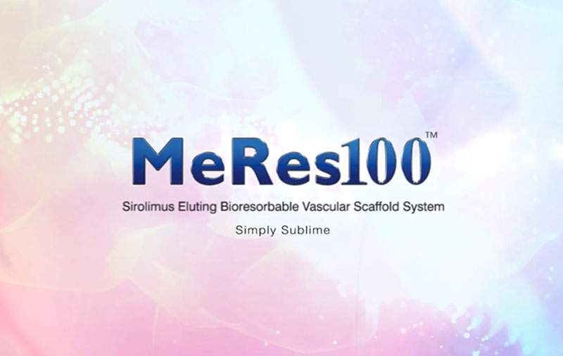 MeRes100 BRS - the World's First Thin Strut Sirolimus-Eluting Bioresorbable Vascular Scaffold - Shows Consistent Long-term Positive Safety With Consistent Low MACE rates and Zero Scaffold Stent