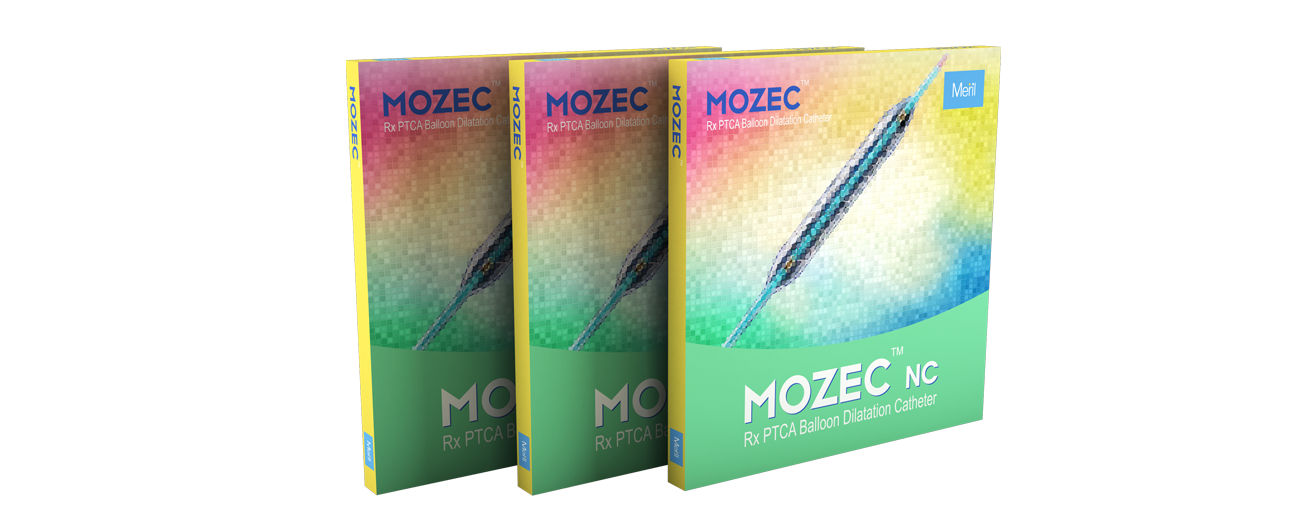 MOZEC NC PTCA - Balloon Dilatation Catheter (BDC) for Angioplasty Post Heart Attack