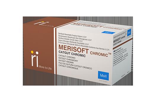 Merisoft Chromic - Surgical Sutures
