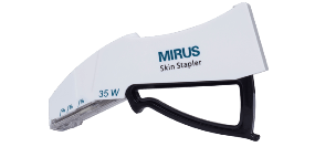 Mirus Skin Stapler for wound closure & easy to use for patients