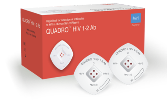 QUADRO HIV 1-2 AB for Pathologist and Labtesting