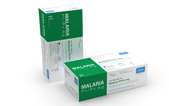 MERISCREEN MALARIA PF/PV AG for Pathologist and Labtesting