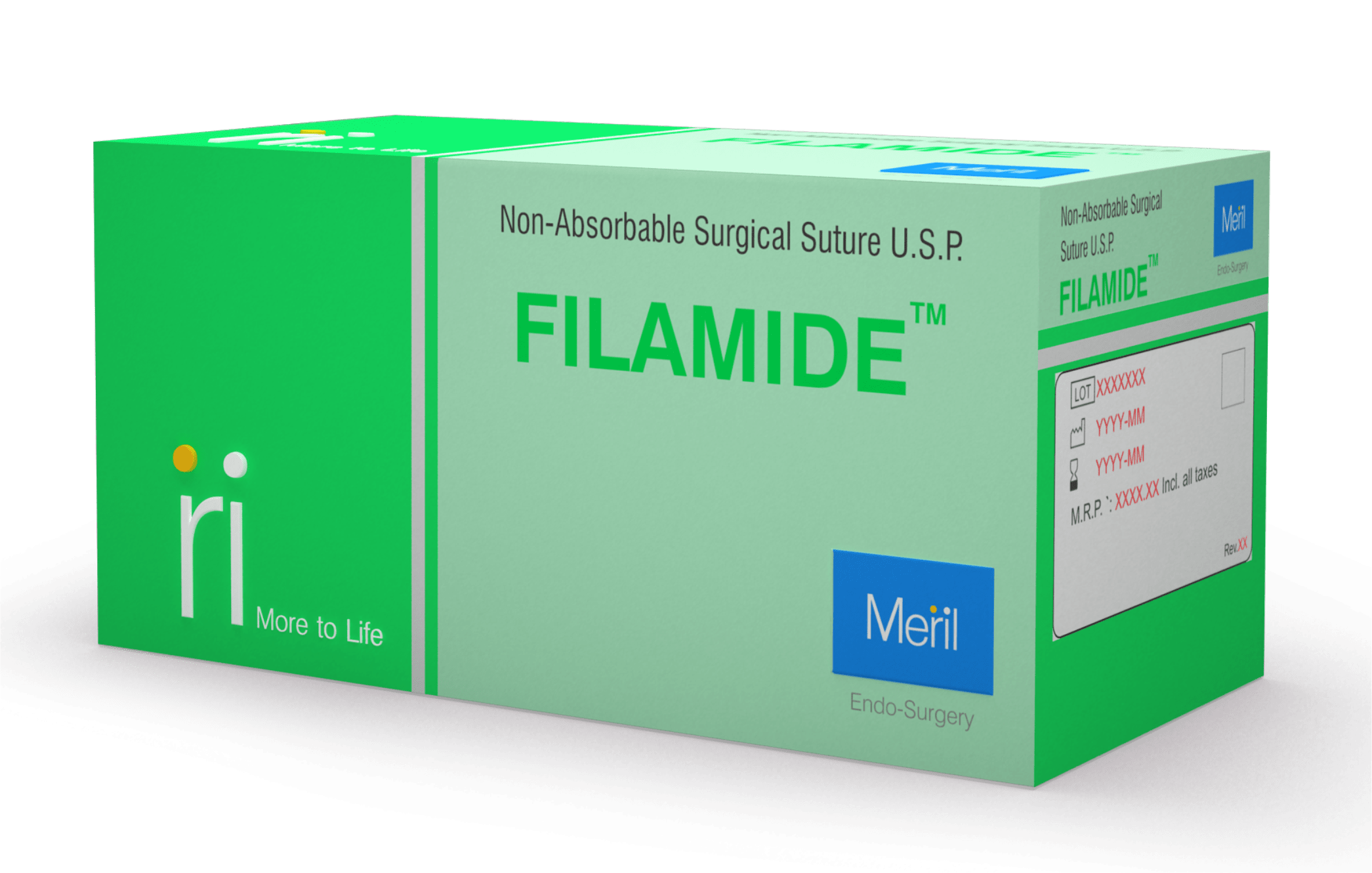 FILAMIDE - Non-Absorbable Plastic Surgical Suture
