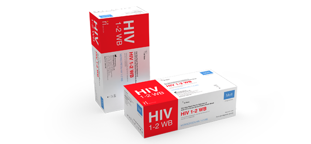 MeriScreen HIV 1-2 WB for Pathologist and Labtesting