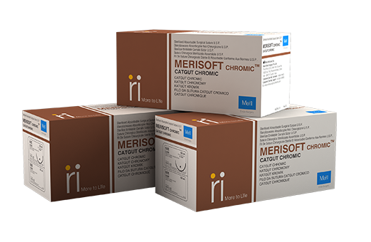 Merisoft Chromic - Surgical Sutures