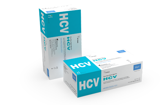 MeriScreen HCV - Hepatitis C Detector for Pathologist and Labtesting