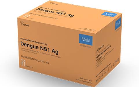 MERISCREEN DENGUE NS1 AG for Pathologist and Labtesting